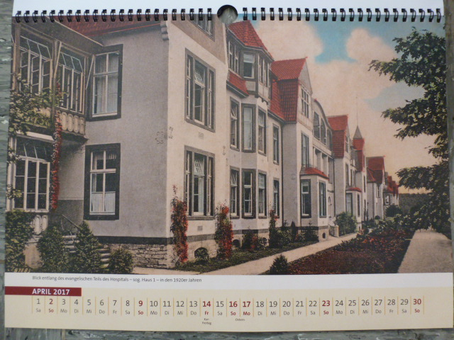 Kalender 2017 über das Auguste-Viktoria-Stift, Monatsbild für April