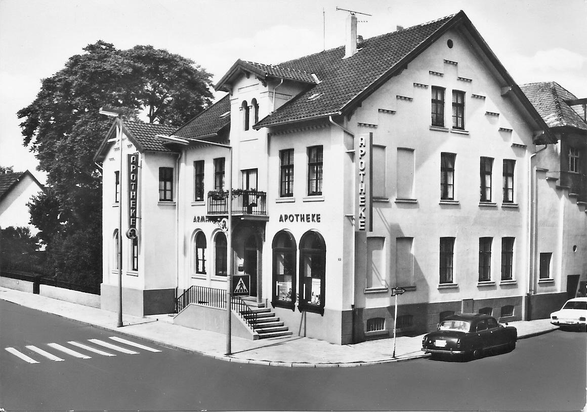 Arminius-Apotheke um 1962