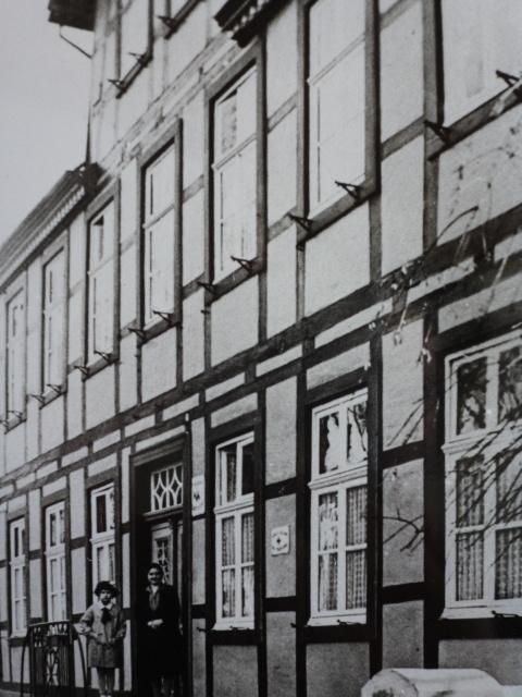 Damaliges Rathaus Bad Lippspringe Fassade, ca. 1925