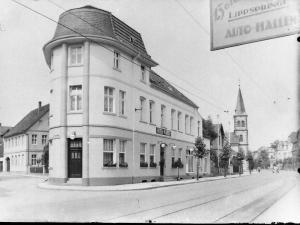Hotel und Kaffee Mertens, Detmolder Straße