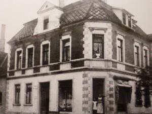 Bäckerei Mertens, Kirchplatz, ca. 1938