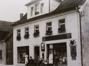 Laden Franz Beutler, Friedrichstraße, ca. 1930er Jahre