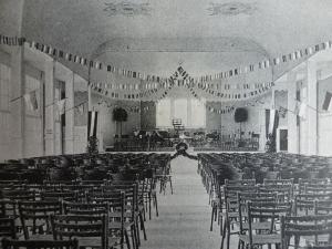 Neues Kurbad Innenansicht Konzerthalle, ca. 1910
