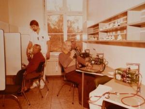 Auguste-Victoria-Stift, Atemtests Patienten Inhalation 1977