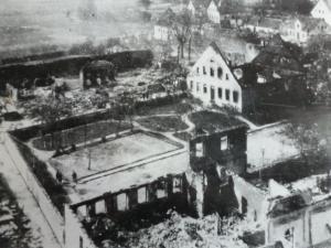 Brand in Lippspringe Pfarrhaus und Garten