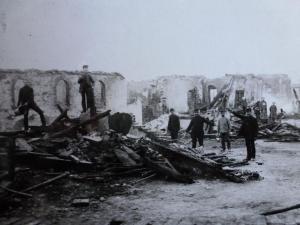 Brand in Lippspringe Zerstörte Papiermühle am Dammhof