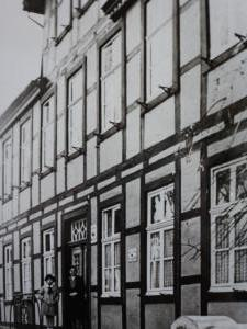 Damaliges Rathaus Lippspringes Fassade, ca. 1925