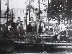 Kaiser-Karls-Bad Waldarbeiter, ca. 1928
