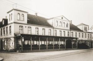 Union-Theater im Hotel Wegener Von 1919-24 zeigte hier das Ehepaar Anton und Lilly Birwé Zelluloidstreifen